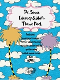 Read Across America Literacy and Math Theme Pack
