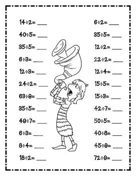 Dr. Seuss Lorax Division