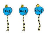 Dr. Seuss Lorax word families