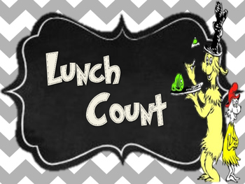 Dr. Seuss Lunch Choices