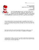 Dr. Seuss Math Problem Solving and Writing