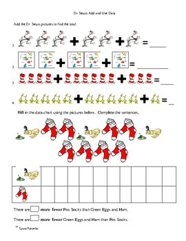 Dr Seuss Math Worksheets Teachers Pay Teachers - Download Dr Seuss Worksheets Kindergarten Pictures