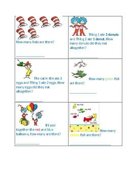 Dr. Seuss Math Task Cards