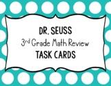Dr. Seuss Math Task Cards 3rd Grade Review