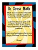 Dr. Seuss Math and Door Decoration Craftivity!!