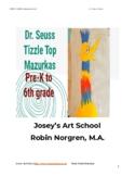 Dr. Seuss Mazurkas Art Project Grade Pre K-6 Painting Lesson Common Core
