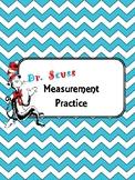 Dr. Seuss Measurement Practice