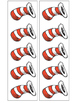 Dr. Seuss Measuring with Hats