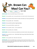 Mr. Brown Can Moo! Readers Theater