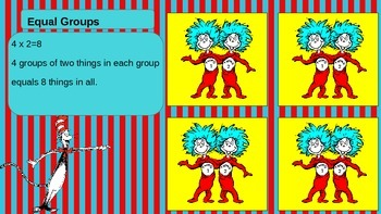 Dr Seuss Multiplication Strategies Powerpoint