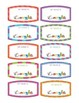 Dr. Seuss Name Tags