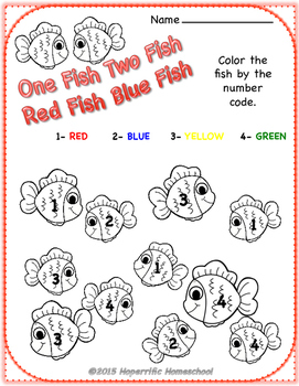 Dr. Seuss No Prep Math Worksheets