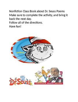 Dr. Seuss Nonfiction Class Book