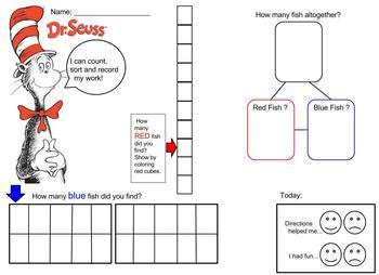 Dr. Seuss Number Combination Worksheet