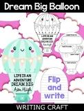 Read Across America Activity - Dream Big Hot Air Balloon