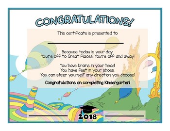 dr seuss oh the places you ll go themed diploma by mary had a little