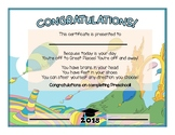 Dr Seuss Oh The Places You'll Go Themed Diploma