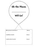 "Dr. Seuss ""Oh, the Places You'll Go"" activity"