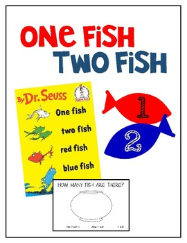 Dr. Seuss // One Fish, Two Fish Activities
