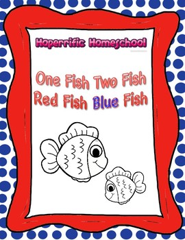 Dr. Seuss One Fish Two Fish Color By Number