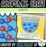One Fish Two Fish Red Fish Blue Fish Addition Craft