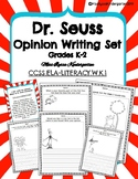 Dr. Seuss Opinion Writing Set Read Across America