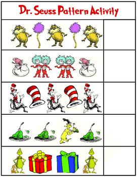 Dr. Seuss Patterns