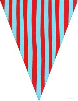 Editable Pennant Banner