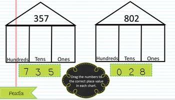 Google Slides Place Value and Rounding: Interactive Practice