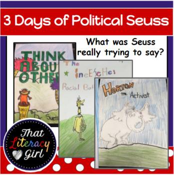 3 Days of Political Seuss (Middle-High School)