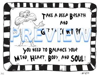 Dr. Seuss Positive Behavior Clip Chart