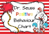 Dr Seuss Positive Behaviour Chart