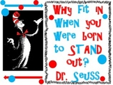Dr. Seuss Poster