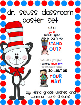 Dr. Seuss Poster Set