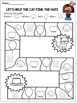 Dr. Seuss  Preschool Activities - Coloring Pages and More....