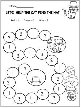 dr seuss preschool activities and kindergarten  coloring pages and more