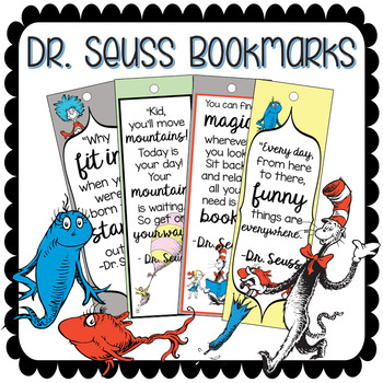 photograph relating to Dr Seuss Printable Bookmarks identify Dr. Seuss Printable Bookmarks