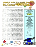 Dr Seuss Puzzle Page (Wordsearch and Criss-Cross / Fun & Games)
