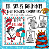 Dr Seuss Q-Tip Craft and Bulletin Board Kit - (Happy Birth