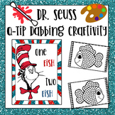 Dr Seuss Q-Tip Craft and Bulletin Board Kit - (One Fish Two Fish)