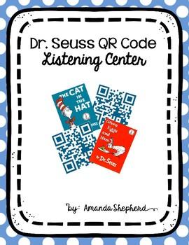 Dr. Seuss QR Code Listening Center