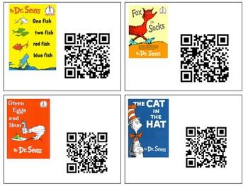 Dr. Seuss QR Codes-- 9 Different books