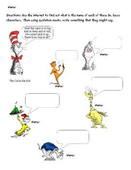 Dr. Seuss Quotations