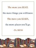 Dr. Seuss Quote Print