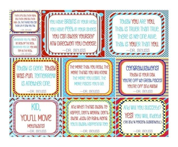 Dr. Seuss Quotes Posters