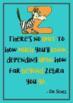 Dr. Seuss Quotes Poster Set