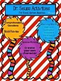Dr. Seuss Activities and Worksheets for Read Across America