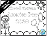 Read Across America Day COLORING and ACTIVITIES 2019