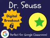 Dr. Seuss/Read Across America - Digital Breakout! (Escape Room, Brain Break)