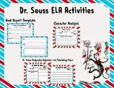 Dr. Seuss /  Read Across America ELA Activities
